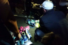 New running shoes for San Diego's homeless courtesy of Road Runner Sports.