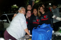 Streets of Hope love serving San Diego's homeless!