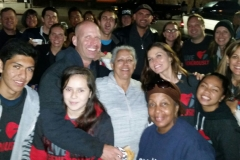 Streets of Hope San Diego group photo at our Thanksgiving 2015 serve the homeless event.