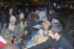 Lyle feeds downtown's homeless on the streets of San Diego.