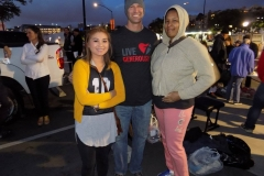 Thanks to Curtis and the other Streets of Hope San Diego Volunteers who passed out donations.
