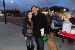 Tammy and Eric, two faithful members serving the homeless on the Streets of Hope San DIego