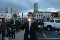 It was a photographic moment at our Easter Homeless Event in downtown San Diego.