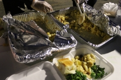 Streets of Hope volunteer, Christina, made a great meal for the homeless on the streets downtown this Easter.