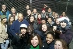 Thanks to all the volunteers at the Streets of Hope (and the many missing from this photo)!