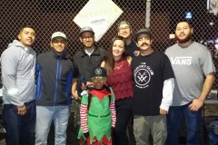 Little Santos joins the Streets of Hope hair cutting crew after cutting over 35 homeless people's hair.
