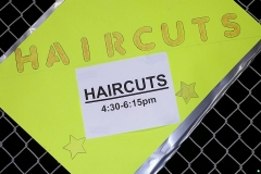 Over 35 plus haircuts on the streets in downtown San Diego for Christmas!