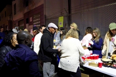 Thanks to all the volunteers who helped feed the homeless at Christmas.