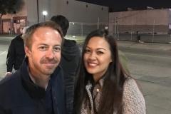Erik and Tammy ready to serve downtown San Diego's homeless.