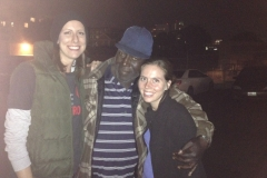 Anne, Milton and Jenn at the Streets of Hope San Diego Homeless Event.