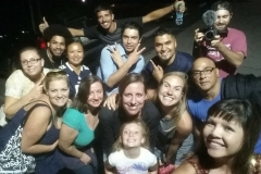 A few of the Streets of Hope San Diego team after feeding the homeless on 9/11