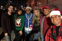 Some of our amazing volunteers feediing the homeless on Christmas.