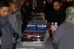 We fed over 200 homeless people at our Christmas event on the streets downtown.