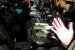 High five for feeding the homeless on Christmas.