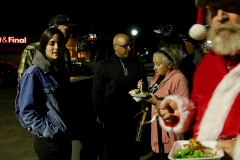 Feeding the homeless on Christmas, Streets of Hope San Diego.