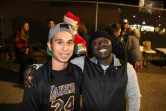 Carlos and Conrad all smiles at our Streets of Hope San Diego Christmas event.