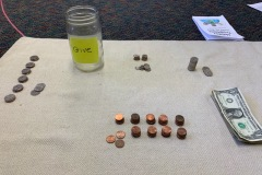 The kids collected their own money to raise for feeding homeless.