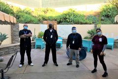 Thanks to the Sharp Mesa Vista Hospital  staff for donating to the homeless.
