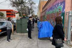 Meeting San Diego's homeless on the streets about the haircutting event