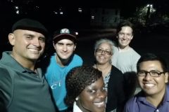 A few of us from the Streets of Hope San Diego who meet Charles