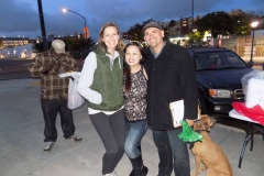 Anne, Tammy and Eric are excited to serve the homeless in San Diego at our Easter event.