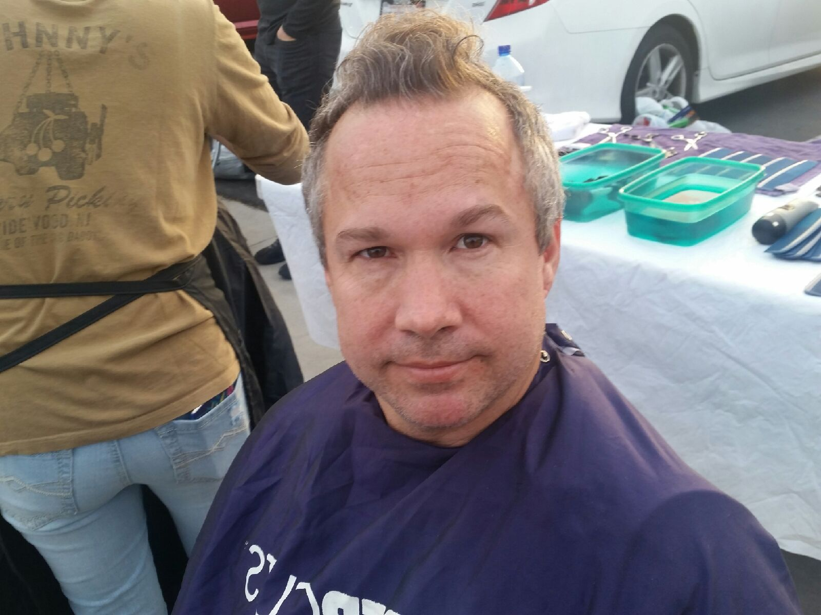Hair Cutting For The Homeless Of San Diego Streets Of Hope