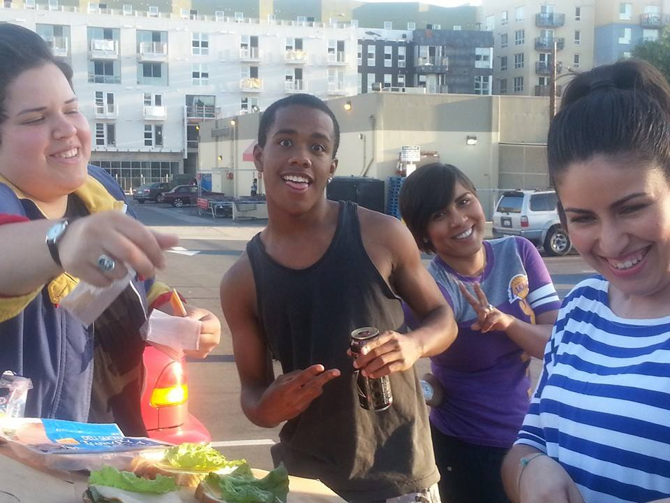 Monday Night Serving the Homeless of San Diego -4-8-2014 – Thanks for Tonight