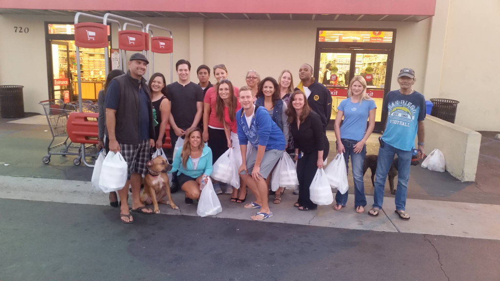 Monday Night Serving the Homeless –  Thanks to Marta