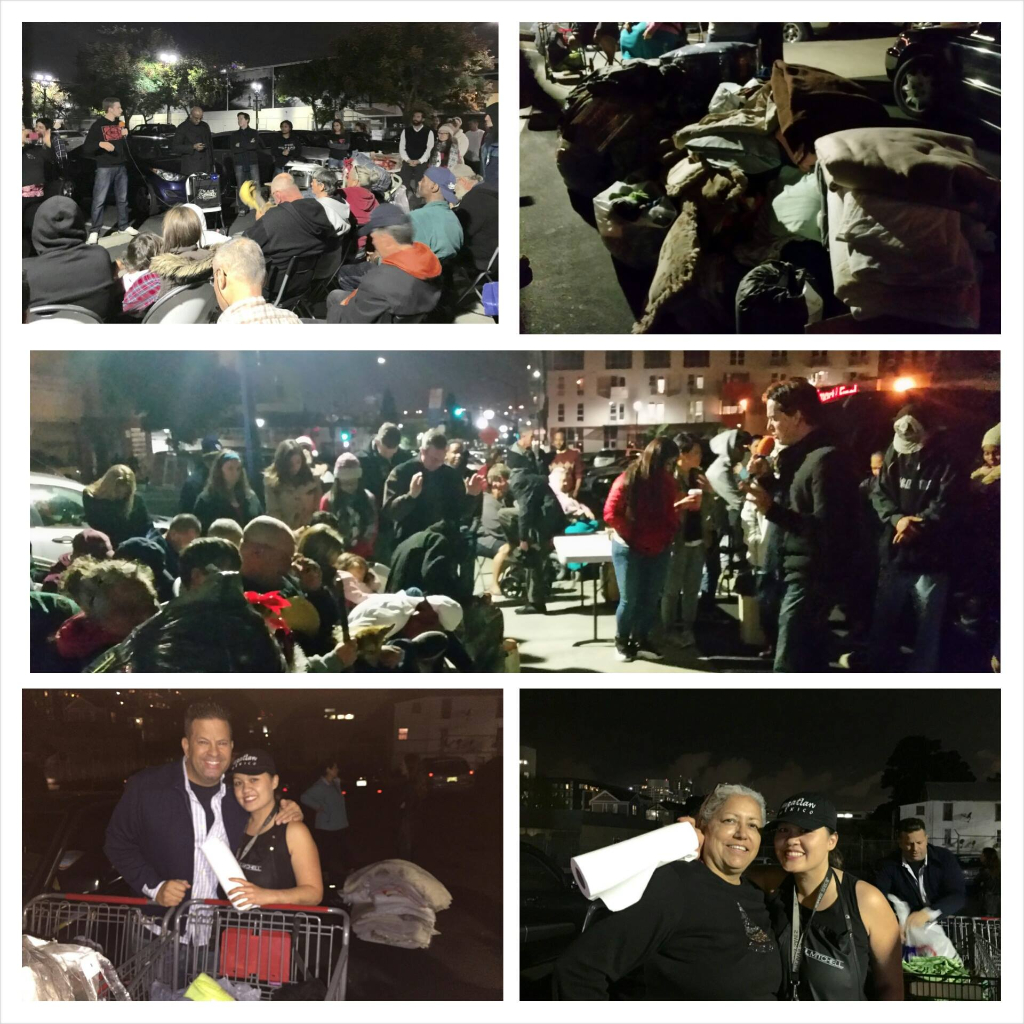 Thanks for Christmas San Diego Homeless Outreach Event 2014 – Streets of Hope