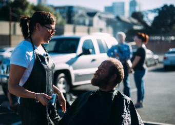 San Diego Homeless Hair Cutting Event 6-1-2015 – Streets of Hope