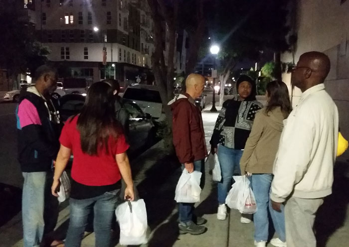 Feeding San Diego's Homeless – More about Pregnant Ashley