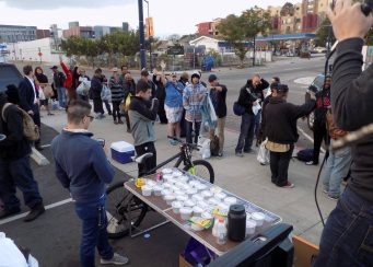 Special Downtown Homeless Feeding Clothing San Diego Event