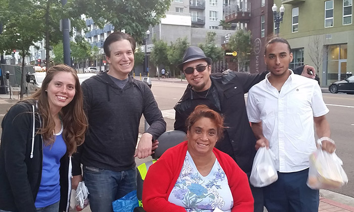 Feeding the Homeless – Meet Maria