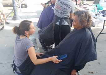 Special Summer Event Feed Clothe Cut Hair Downtown Homeless