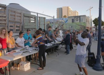 San Diego Homeless Easter Event 2017 Downtown