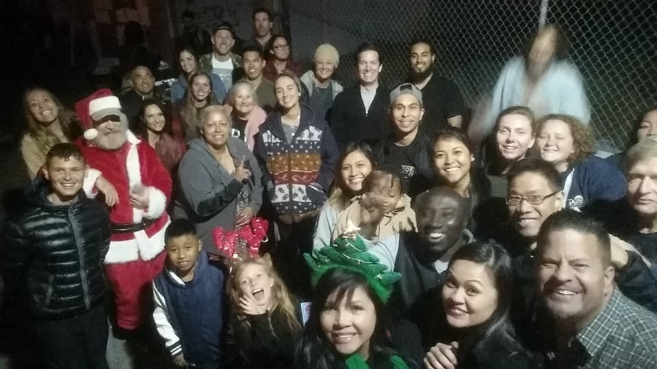San Diego Homeless Christmas Downtown Volunteers – Thank You