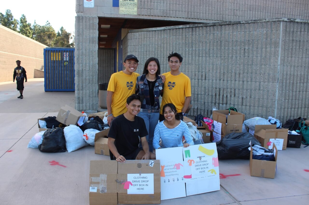Mira Mesa High School Acts of Kindness Club Homeless Event